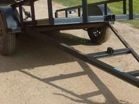 5 x 10 tilt trailer 5 lugs mod wheels single Dexter