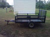 5x10 utility trailer. Great shape. New tires.$500 firm.