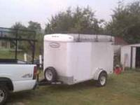 5x10 Leonard Enclosed Trailer. $1400.00 Has Ladder