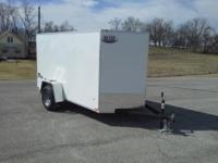 2015 Stealth 5x10 enclosed trailer with arrow wedge
