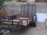 2009 Carrie utility trailer. Great all around trailer