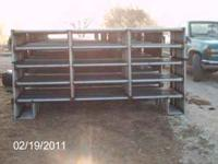 cattle panels built to last.Unpainted.Starting at