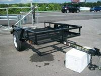 New 5x10 SideKick Tilt Trailer with MSO SideKick Tilt