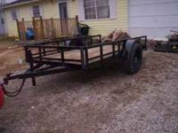5x10 trailer with ky title and is license $725 no lift