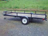 5x10 trailer.new tires & wheels, Has clear title.All