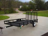 5x10 Utility Trailer with ramp $835 plus tax  Location: