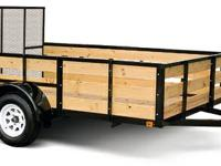 Fall Truckload Sale New 2014 Cargomate Woodside Utility