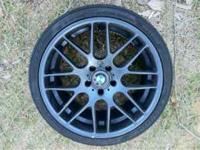 I am selling my BMW csl wheels. They are 19 inch with