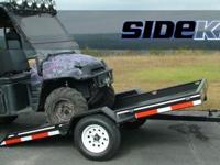 New 5x12 SideKick Tilt Trailer with MSO. Turn Trailer.