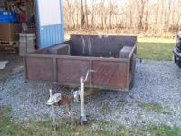 I HAVE A 5X7 TRAILER FOR SALE OR POSSIBLE TRADE ASKING