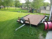 Must sell today! Snowmobile/Utility Trailer. Great