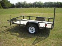 New 2013 Trailer with MSO 5x8 Standard Trailer 1year