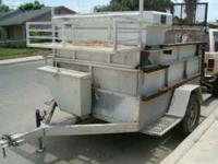 Selling ASAP a good trailer 5x8 for landscaping or
