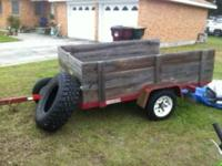 5x8 utility trailer for sale. Asking only $500. Any