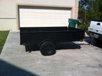 I HAVE HERE A UTILITY TRAILER THAT I'VE HAD FOR 5