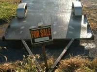 for sale is an all metal trailer w/ no title lights and