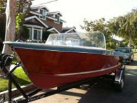 1962 Chris Craft Cavalier Custom Utility(Mahogany)