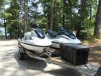 2000 GP1200R two seater & 2001 XL800 three seater