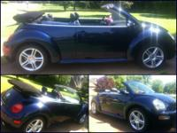 This is a 2004 Volkswagen Beetle Convertible and is in