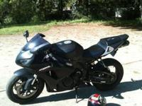 Flat black 2007 CBR 1000rr with 16k miles, BEAST of a