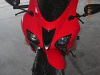 it is a 2007 kawasaki zx6r with $2000 worth of