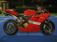 2009 Ducati 1198 Superbike. This particular bike comes