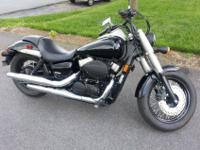 FOR SALE -2011 Honda Shadow Phantom $6,200Only 500