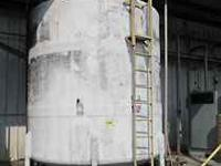 I have a 12' Diameter Fiberglass storage tank on legs