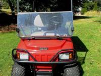 Exceptionally nice 2007 Club Car XRT 850 for sale. This