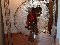 A Collectors item...this Sundowner Cowboy Mirror is