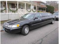 2002 Lincoln Limousine Black, six pass, 177.000mi, All