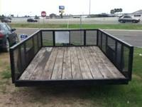 6 1/2 ft x 10 ft CUSTOM MADE TRAILER WITH AVAILABLE