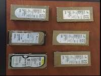 I've got 6 fully functional 15k RPM server HDDs. They