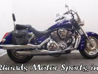2003 Honda VTX 1800 with 2,048 Miles This is one of the