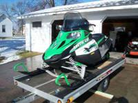 2009 ARCTIC CAT F8 LXR, automatic start and reverse