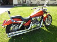 I am selling my 2006 Honda VTX 1300c. This bike has