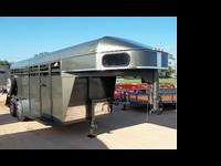New Open Range Livestock Trailer 16' long 7' high.