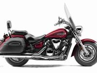 2011 YAMAHA V STAR 1300 TOURER, Candy Red, make a