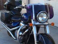 2005 SUZUKI C90 1400 BOULEVARD FOR $6,400 . SERIOUS