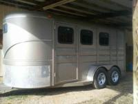 2009 CALICO two OR 3 HORSE SLANTLOAD WITH TACK ROOM AND
