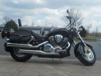 2004 HONDA VTX1800N, Spec one Black,