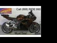 2008 used Yamaha R6 sport bike for sale - only $6,499!!