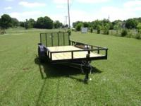 This 6'4'' X 16' utility trailer has many outstanding