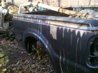 Bed is in great shape no rot on wheel wells. Has