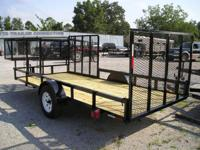 6.5 x 14 Landscape Trailer 3500lb Dexter axle with e-z
