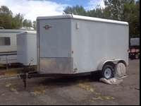 2011 Carry-On brand cargo trailer 6.5' x 14' box size,