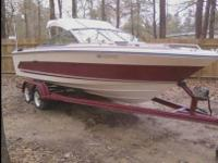 This is a 1986 Sea Ray BowRider the only reason I'm