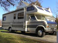 1989 Winnebago Warrior 27 foot class C motorhome, Ford
