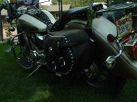 Here is a 2003 Yamaha V-Star 1100 Classic, shaft