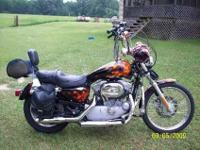 Very nice bike...2004 Sportster 883 with a stage two